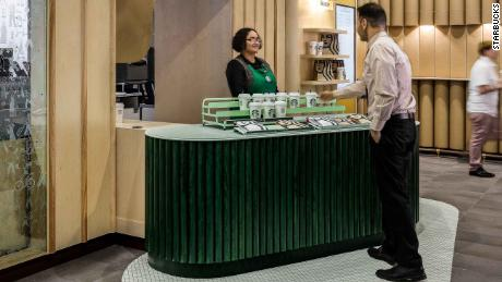 Starbucks doesn't want you to order at its newest store