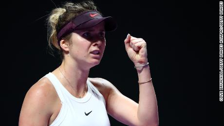 Elina Svitolina made a dogged defense of her crown but had now answer to Barty's all-round brilliance in the final in Shenzhen.