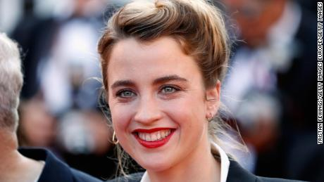 French film star Adele Hennel accuses director of abuse