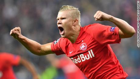 Erling Braut Håland ha 'potenziale per essere un incredibilmente grande giocatore,', dice Salisburgo allenatore