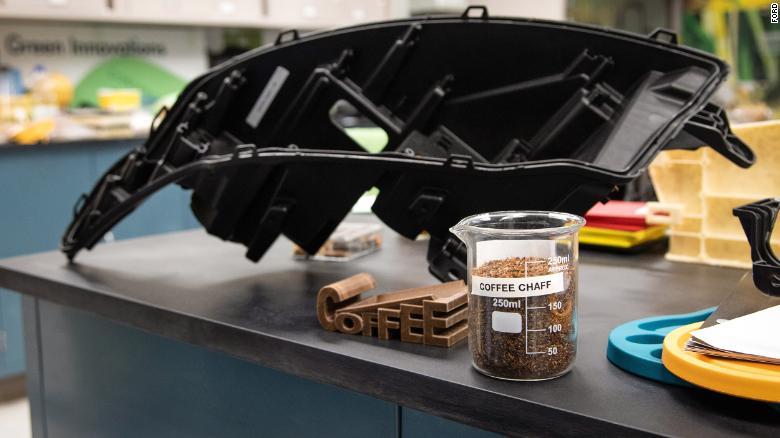 Ford is using coffee chaff to help reduce its environmental impact.