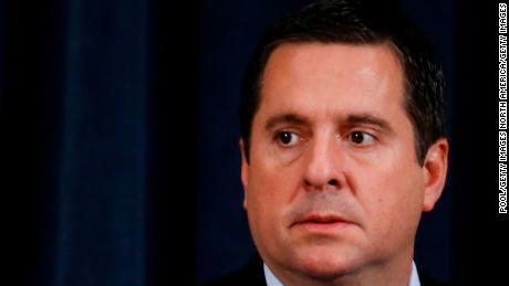 Devin Nunes refuses to say if he received any foreign information intended to harm Biden