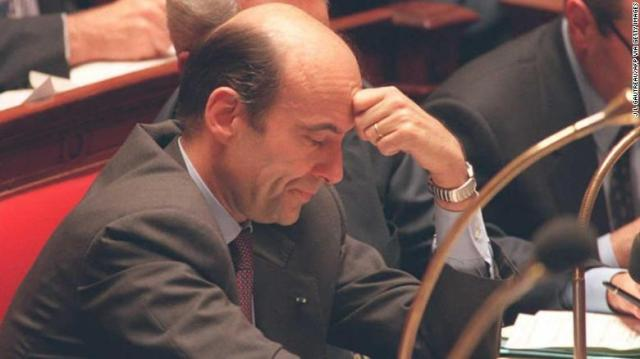 French Prime Minister Alain Juppé during a weekly parliament question and answer session in November 1995.