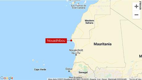 มีผู้เสียชีวิตอย่างน้อย 58 คนเนื่องจากเรือบรรทุกผู้อพยพจมนอกชายฝั่งมอริเตเนีย