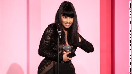 Nicki Minaj reveals the gender of her newborn baby