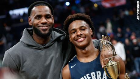 With the NBA bloodlines, the Sierra Canyon boys' basketball team is in the national spotlight
