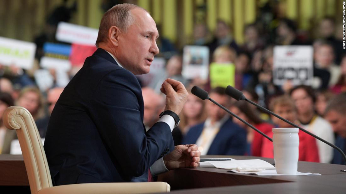 Photo of Vladimir Putin dodges the tougher questions in his annual marathon press convention
