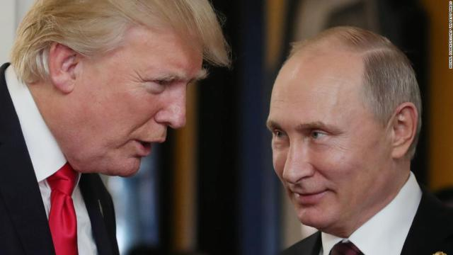 Trump turns into a pussycat on all things Putin (Opinion) - CNN