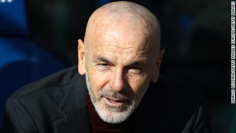 Stefano Pioli, ha assunto la carica di Milano nel mese di ottobre.