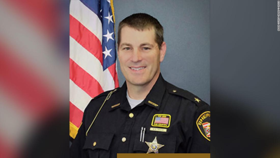 Photo of Ohio sheriff hit by 'celebratory' bullet on New Yr's day