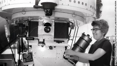 The first American observatory named in honor of Vera Rubin, a female astronomer