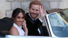 Meghan, Duchess of Sussex, returns to Canada after the announcement of the bomb