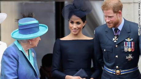 Harry  and Meghan to lose their Canadian security