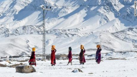 The avalanches were triggered by heavy snowfall in the Neelum Valley, Pakistan-administered Kashmir.