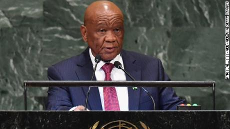 Lesotho's 80-year-old PM says he's no longer 'energetic' and plans to step down
