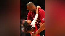 The photo Bryant used for her profile picture was taken February 14, 2016, before Kobe Bryant's final NBA All-Star Game.