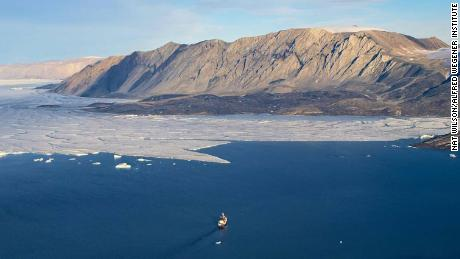 According to the new study, Greenland's ice sheet has melted to a point without any return