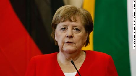 Angela Merkel supports her party's collaboration with the far-right AfD