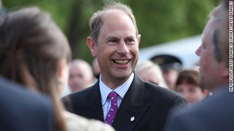 Prince Edward, Earl of Wessex, meets young recipients of the award during the Duke of Edinburgh Gold Award presentations at Buckingham Palace on May 22, 2019 in London, England. (Photo by Yui Mok - WPA Pool/Getty Images)