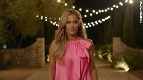 "Caroline Flack on ""Love Island."""