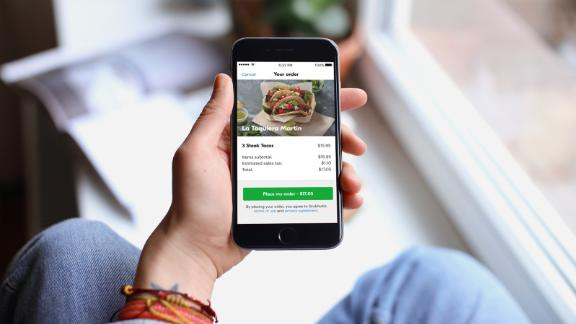 If you're ordering regularly via Grubhub, you can get up to $120 in annual dining credits with the Amex Gold card.