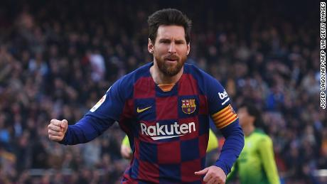 Lionel Messi and La Liga stars get go ahead to resume play early next month