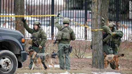 Police and several law enforcement agencies were responding to the Molson Coors complex.