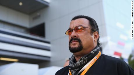 Actor Steven Seagal settled some charges this year.