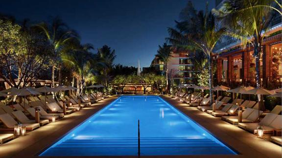 Redeem 60,000 points from the Marriott Bonvoy Brilliant credit card for a night at the Marriott Miami Edition.