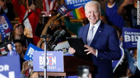 Joe Biden meets big wins on super Tuesday as Bernie Sanders looks at Texas and California