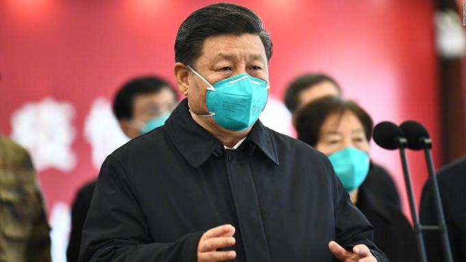 China coronavirus: Xi Jinping visits virus-hit Wuhan in major show ...
