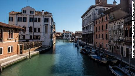 Venice's canal water looks clearer as coronavirus keeps visitors away