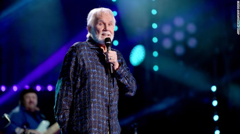 Kenny Rogers performs onstage at the 2017 CMA Music Festival in Nashville.
