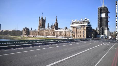 Roads empty during coronavirus restrictions make spies & # 39;  MI5 chief says hard work