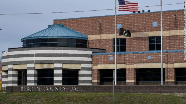 An ICE detainee who's been held at the Bergen County Jail in Hackensack, New Jersey, has tested positive for the novel coronavirus.