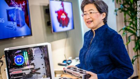 Lisa Su's bet on high performance computing has positioned AMD to power next generation technologies. (Drew Anthony Smith for CNN)