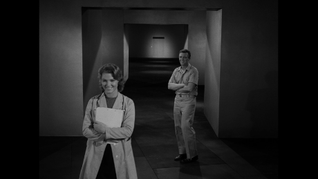 """A scene from """"The Long Morrow"""" episode of """"The Twilight Zone"""" in1964."""