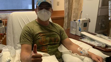 He recovered from the coronavirus and now his plasma donation could save the lives of others