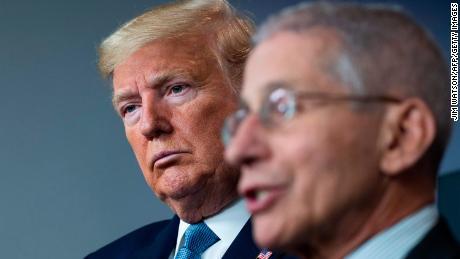 Trump and Fauci do not speak as coronavirus pandemic worsens