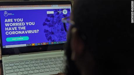A new website is helping Nigerians check if they have coronavirus