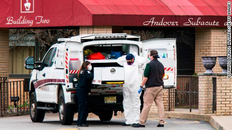 36 are dead from coronavirus at 'overwhelmed' New Jersey nursing home