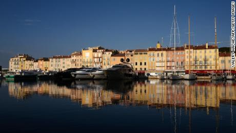 Meanwhile in Saint-Tropez, southeastern France, privileged residents sheltering at their luxury estate have been getting on-site antibody testing.