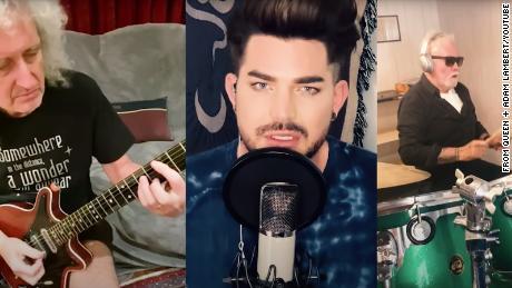 Queen et Adam Lambert réinventent la chanson classique avec & quot; You Are The Champions & quot; dédié aux travailleurs de la santé