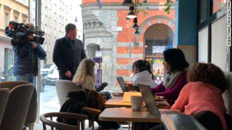 In Stockholm, working or chatting over coffee is still an everyday activity.