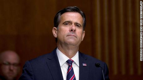 Senate panel advances choice of Trump spy leader