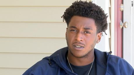 Dameon Shepard, 19, has likened the group to a lynch mob. Lawyers are demanding he apologize.