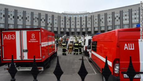 Reports of ventilators catching fire in an intensive care unit at St. George's Hospital in St. Petersburg in May added to doubts about how the Kremlin was handling the pandemic.