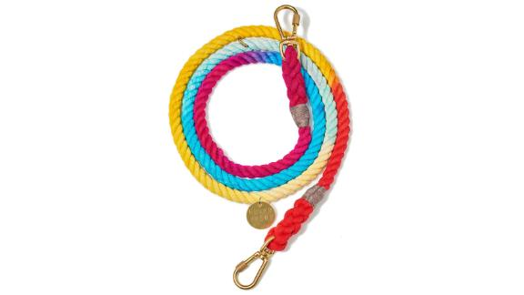 Found My Animal Prismatic Cotton Rope Dog Leash