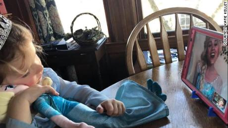 Katie Kelley pix courtesy of Katie Kelley from Hope Love and Magic. The ones with the little girl whose face we can see -- Her name is Emme Ward and she is Loni Ward's daughter and we have permission to use the pic.