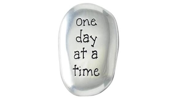 One Day at a Time Soothing Stone